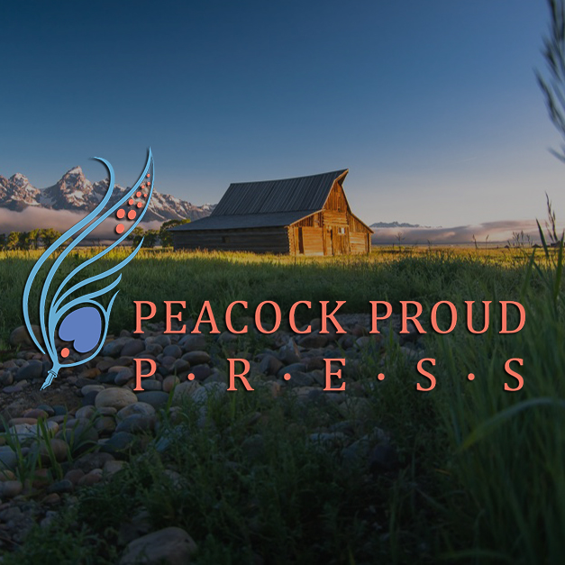 TA Moulton Barn in Grand Teton National Park with Peacock Proud Logo Photo by RL Davis